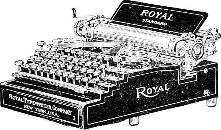 Royal-typewriter-illustration